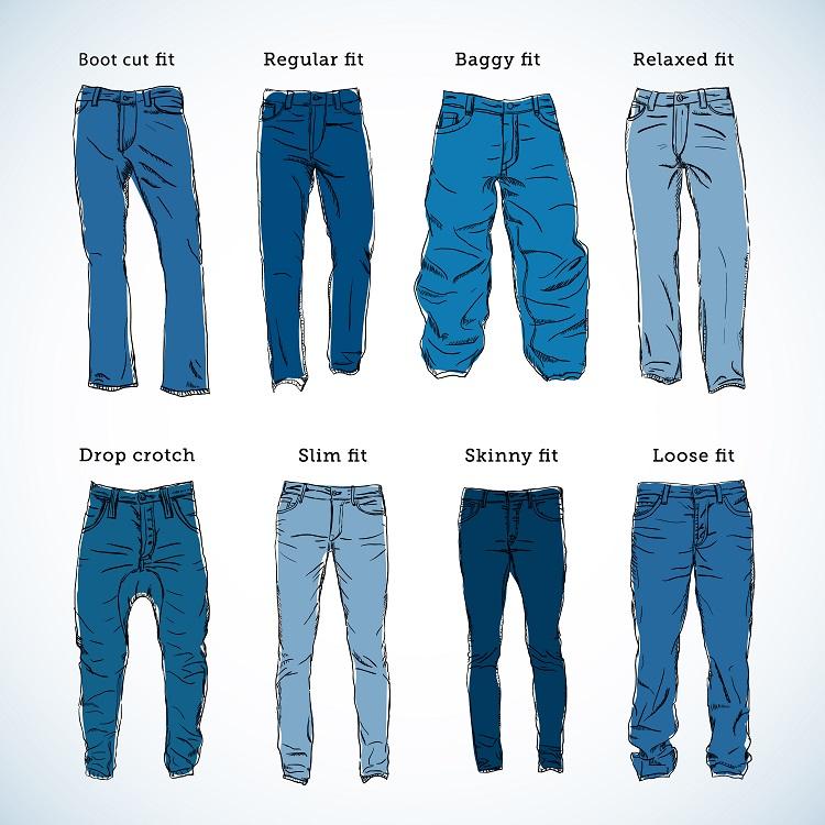 Broekmaten en de verschillende type broeken